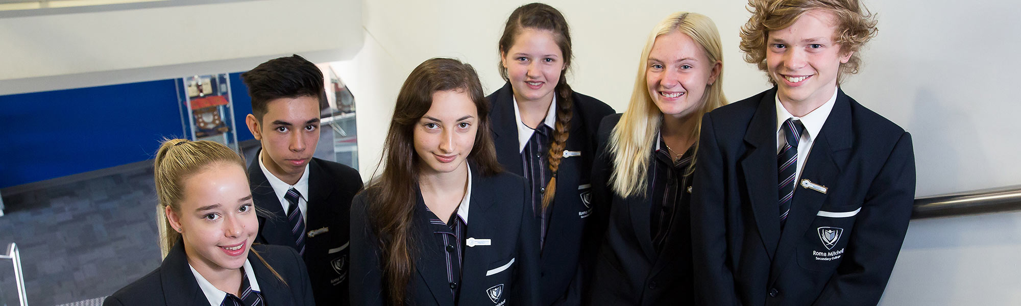 Roma Mitchell Secondary College Students